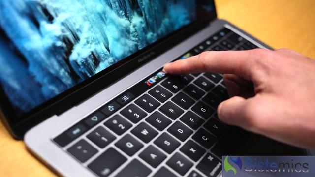 MacBook com touchbar